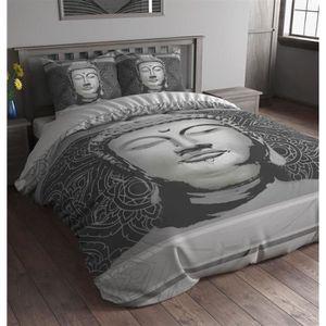 parure de lit 200x240 en coton achat vente parure de lit 200x240 en coton pas cher soldes. Black Bedroom Furniture Sets. Home Design Ideas