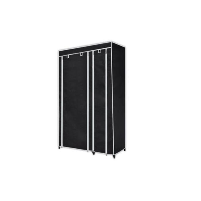 Magnifique armoire etagere de rangement noire achat vente meuble tag re - Cdiscount armoire de rangement ...