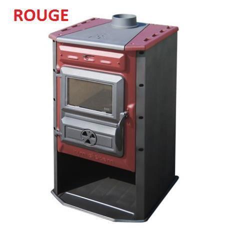 po le bois rouge achat vente po le insert foyer po le bois rouge cdiscount. Black Bedroom Furniture Sets. Home Design Ideas