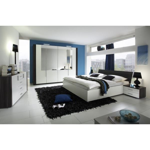 Chambre adulte compl te celia lit 160 x 200 cm achat for Chambres adultes completes