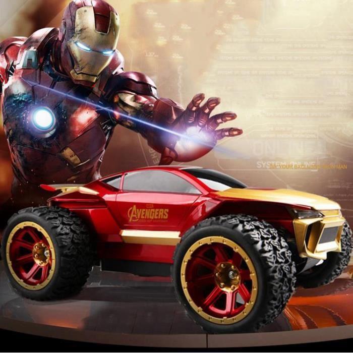 iron man 2 rc car racing avengers t l commande dispositif de t l commande de voiture mod le. Black Bedroom Furniture Sets. Home Design Ideas