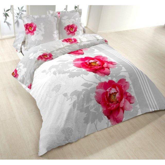 parure de lit 4 pieces fleur magique achat vente parure de lit soldes d t cdiscount. Black Bedroom Furniture Sets. Home Design Ideas