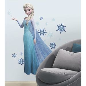 LA REINE DES NEIGES Sticker Chambre enfant Géant Elsa