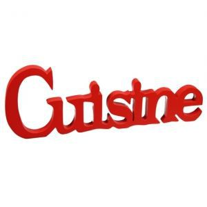 Plaque pour porte de cuisine bois peint rouge achat - Plaque alu pour cuisine ...