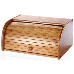 Boite a pain en bois achat vente boite a pain en bois for Four a pain exterieur pas cher