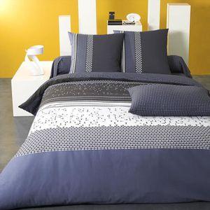 drap housse imprime 140x190 achat vente drap housse imprime 140x190 pas cher cdiscount. Black Bedroom Furniture Sets. Home Design Ideas