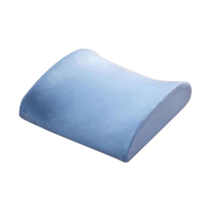 memory foam lombaire soutien de taille oreiller coussin achat vente oreiller de voyage. Black Bedroom Furniture Sets. Home Design Ideas