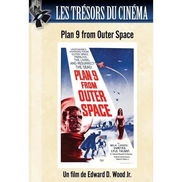 Dvd plan 9 from outer space en dvd film pas cher wood jr for Outer space planning and design group
