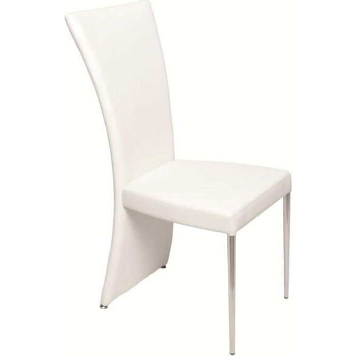 Lot de 2 chaises pour salle manger swithome c achat - Chaise pour salle a manger ...