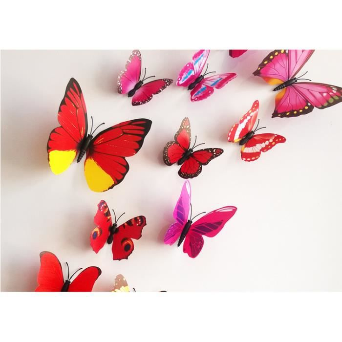 Decoration De Mur A Coller Papillon