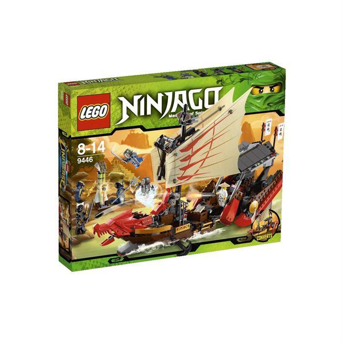 ASSEMBLAGE CONSTRUCTION Lego Ninjago - Le QG Des Ninjas