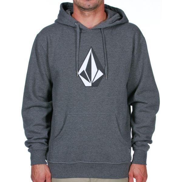 sweat capuche volcom the stone swe gris dark grey achat. Black Bedroom Furniture Sets. Home Design Ideas