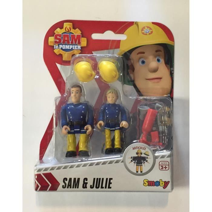 Smoby sam le pompier figurine sam et julie 7cm achat - Sam le pompier personnages ...