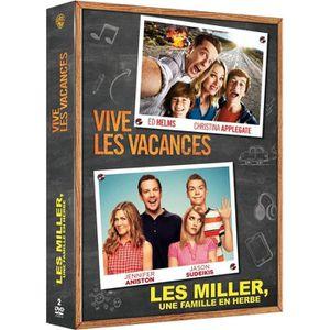 DVD FILM DVD Pack Vive les vacances + Les Miller, une famil