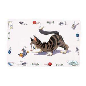 TRIXIE Set de table Comic Cat 44 × 28 cm pour chat
