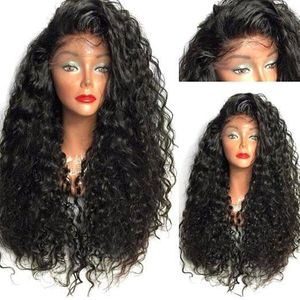 PERRUQUE - POSTICHE Synthetic Cheveux Longs Bouclés Perruque Haute tem