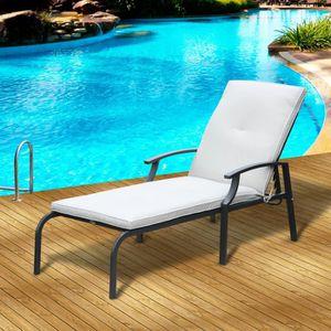 Bain de soleil grosfillex achat vente bain de soleil grosfillex pas cher cdiscount - Chaises longues grosfillex ...