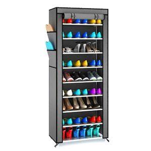 armoire à chaussures en toile