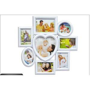 p le m le 8 photos c ur blanc achat vente p le m le photo soldes cdiscount. Black Bedroom Furniture Sets. Home Design Ideas