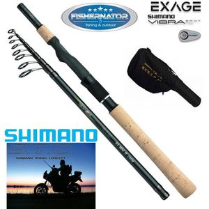 CANNE SEULE Shimano Exage BX STC Mini Tele Spinning 10-30g, 2.