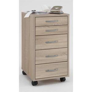 caisson de rangement en bois achat vente caisson de rangement en bois pas cher cdiscount. Black Bedroom Furniture Sets. Home Design Ideas
