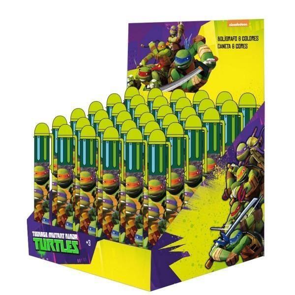 Stylo 6 couleurs tortues ninja achat vente stylo - Tortue ninja couleur ...