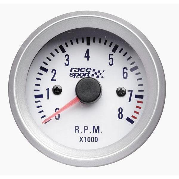 Manometre compte tours fond blanc diametre achat vente manom tre auto manometre - Toupie qui compte les tours ...