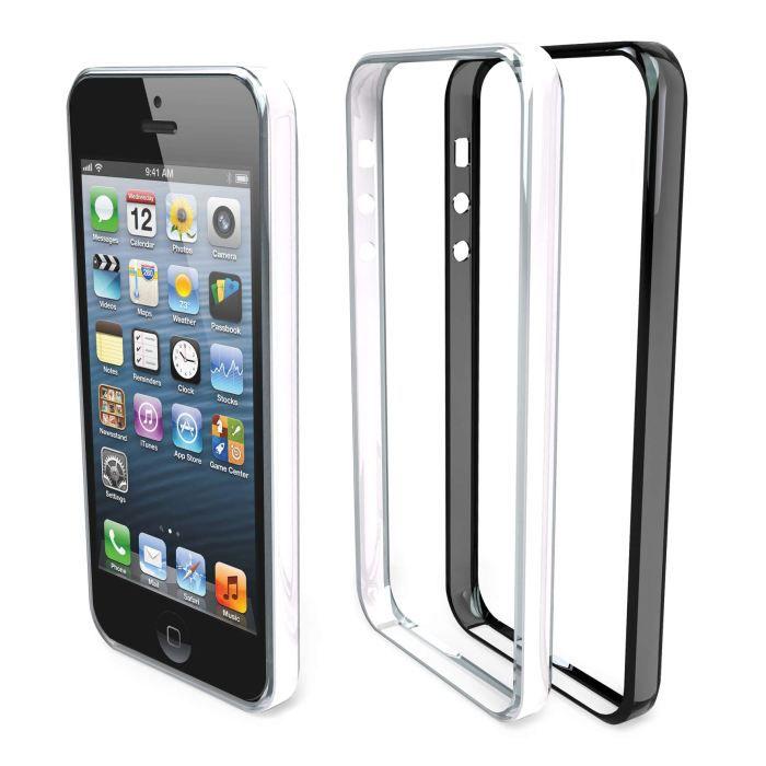 telephonie accessoires portable gsm lot de  coques bumper ipho f muv