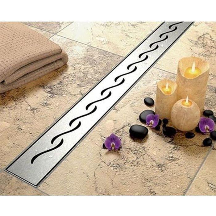 80 cm caniveau de douche l 39 italienne vagues achat. Black Bedroom Furniture Sets. Home Design Ideas