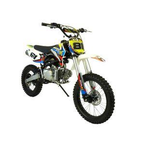 dirt bike 125cc 17 14 achat vente dirt bike 125cc 17 14 pas cher soldes cdiscount. Black Bedroom Furniture Sets. Home Design Ideas