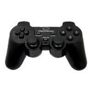 CLAVIER D'ORDINATEUR GAMEPAD AVEC VIBRATIONS POUR PC / PS2 / PS3 ESP...