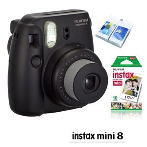APPAREIL PHOTO COMPACT FUJIFILM Instax Appareil Mini 8 Noir plus Fuji 10