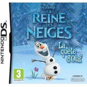 La Reine des Neiges : La Quête d'Olaf Jeu DS
