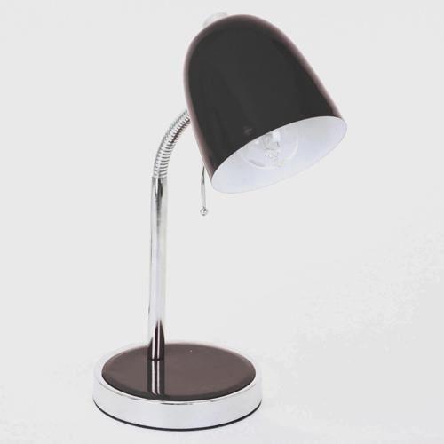 Lampe de bureau m tal noir achat vente lampe de - Bureau metal noir ...