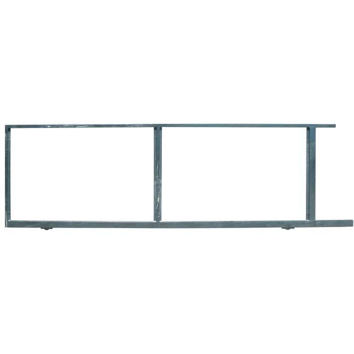 cadre acier prepeint ocean pour coulissant 4m achat vente accessoire de portail cadre acier. Black Bedroom Furniture Sets. Home Design Ideas