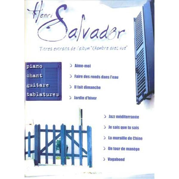 Emf henri salvador chambre avec vue pvg achat vente for Chambre avec vue salvador