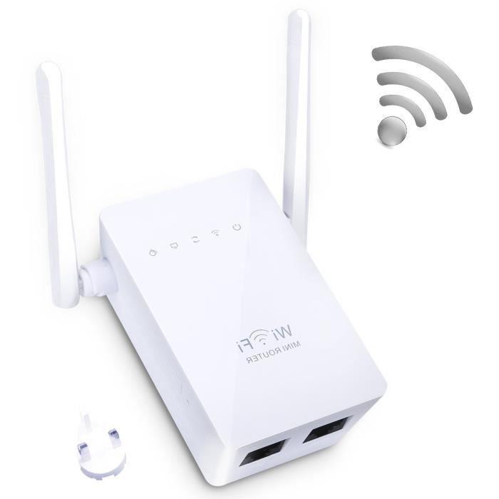 r p teur wi fi wireless n 300 mbps wifi routeur sans fil. Black Bedroom Furniture Sets. Home Design Ideas