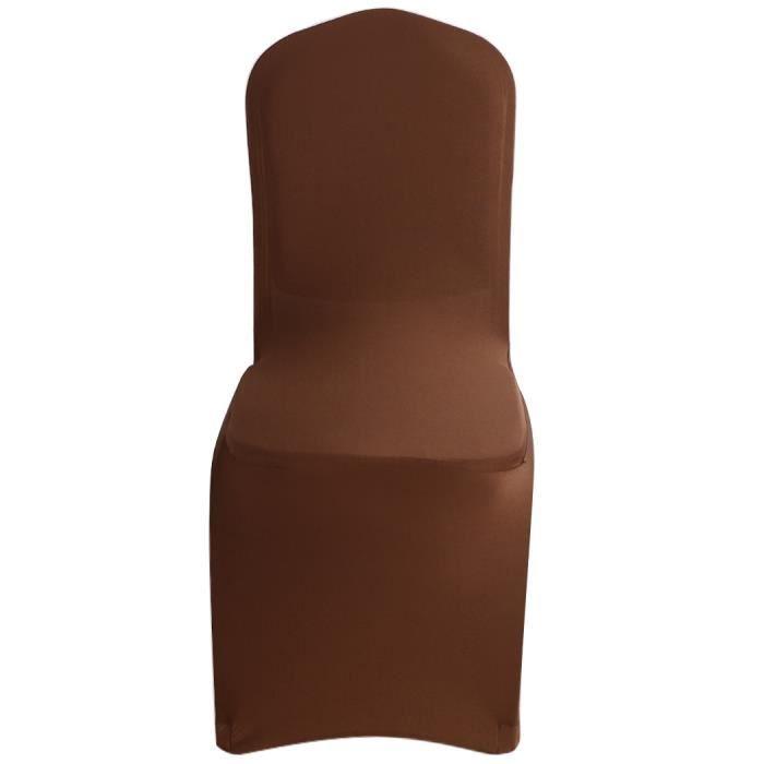 Solide chaise de spandex universelle couvercle mariage for Housse de chaise universelle
