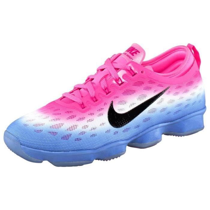 nike air max assaillir iii trail chaussure de course - NIKE ZOOM FIT AGILITY blanc rose violet - Achat / Vente basket ...