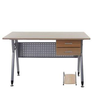 Meuble d 39 ordinateur bureau informatique avec rangement for Soldes bureau informatique