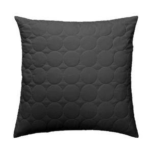 housse de coussin 60x60 gris achat vente housse de coussin 60x60 gris pas cher cdiscount. Black Bedroom Furniture Sets. Home Design Ideas