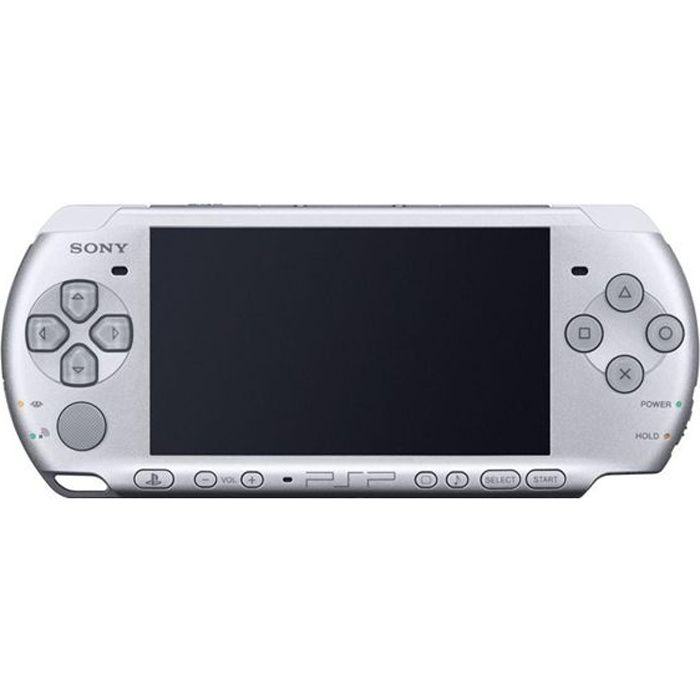 jeux pc video console consoles sony base pack psp  silver f