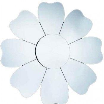 Miroir forme fleur achat vente miroir cdiscount for Miroir forme maison