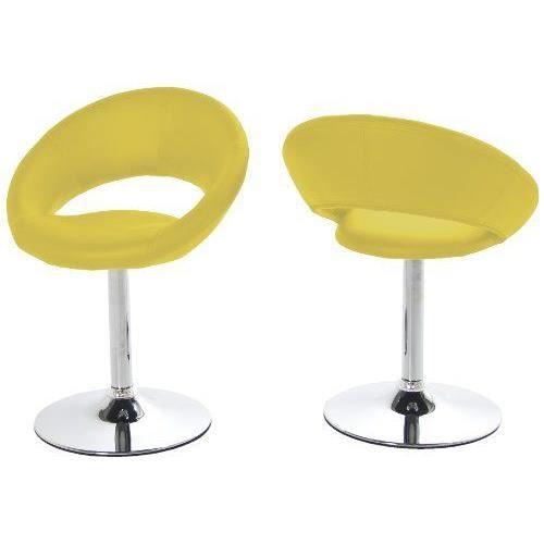Chaises de cuisine jaune achat vente chaises de cuisine jaune pas cher cdiscount for Chaise de cuisine jaune
