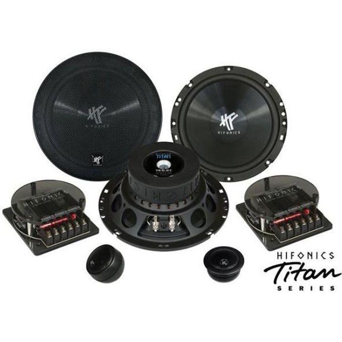 kit haut parleurs 16 5cm hifonics ts6 2c haut parleur voiture avis et prix pas cher cdiscount. Black Bedroom Furniture Sets. Home Design Ideas