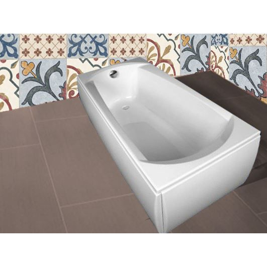 baignoire acrylique rectangulaire ebony 1600 x achat vente baignoire baln o baignoire. Black Bedroom Furniture Sets. Home Design Ideas