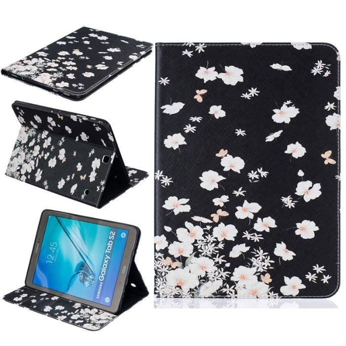 Tablette etui pour samsung galaxy tab s2 t815 t810 9 7 for Housse tab s2 8