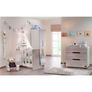 Mobilier chambre b b noukie 39 s achat vente mobilier for Chambre bebe noukies
