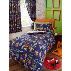 housse de couette enfant 1 personne achat vente housse de couette enfant 1 personne pas cher. Black Bedroom Furniture Sets. Home Design Ideas