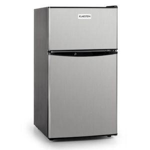 Klarstein big daddy cool frigo 54l classe a avec cong lateur 4 toiles 26l - Congelateur 4 etoiles ...